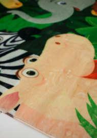 Bild på mattan Kids Jungle