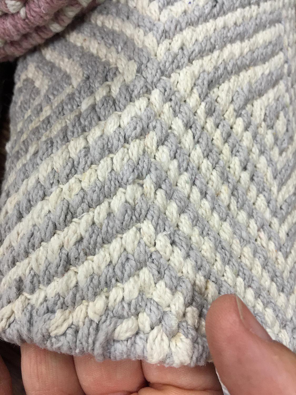 Lindås   bomullsmatta i snygg design   nylanders mattor