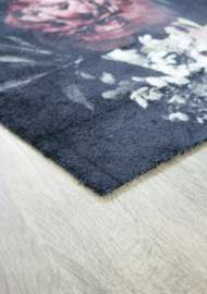 Bild på mattan Blomster