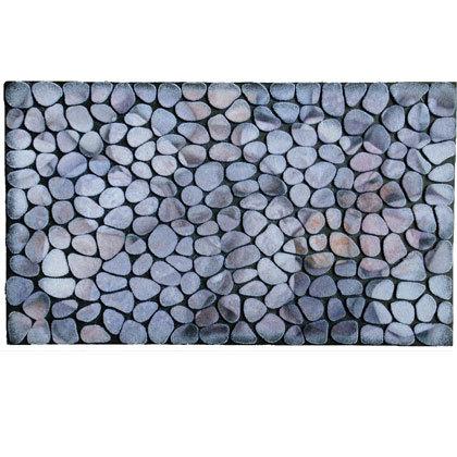 Populära Pebbles - mattan med stenar som tål frost - Nylanders Mattor YG-94