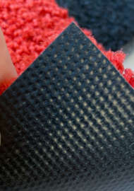Bild på mattan Röda mattan Candy wash