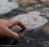 Bild på mattan Bouquet