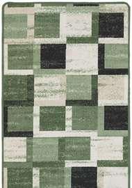 Kvadrat Grön - Gummerade mattor