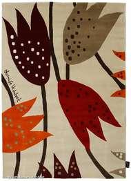 Loupelou Röd - Handknutna mattor