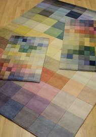 Bild på mattan Palett