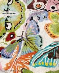 Bild på mattan Butterflies