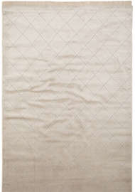 Silk square Sand - Konstsilkesmattor