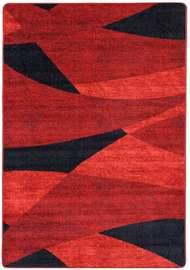 Paris Röd - Mattor på metervara