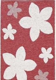Flower Röd - Plastmattor