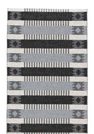 Märta Grå-svart - Plastmattor