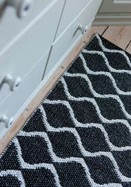 Bild på mattan Wave