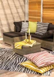 Bild på mattan Zebra