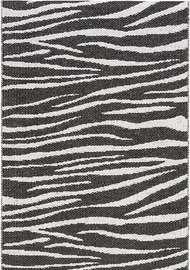 Zebra Svart - Plastmattor