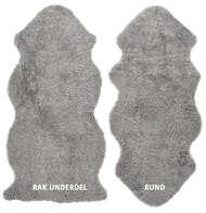 Curly 1,5-set - ett och ett halvt lammskinn Natural Grey - Skinn