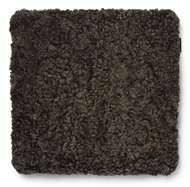 Curly Seatpad Brown Melange - Skinn