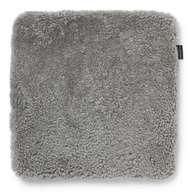 Curly Seatpad Natural Grey - Skinn