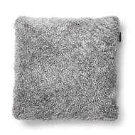 Curly Small Pillow Charcoal grey-silver - Skinn