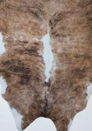 Bild på mattan Fejkad kohud - Ranch