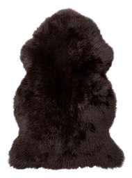 Gently rug Dark Brown - Skinn
