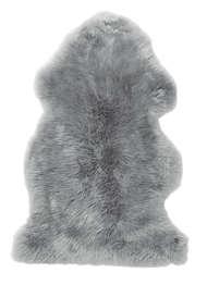 Gently rug Lightgrey - Skinn
