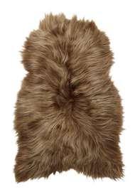 Molly Hair Rug Dyed Brown - Skinn