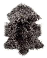 Shansi Rug Black Snowtop - Skinn