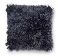 Shansi Small Pillow Darkblue lighttop - Skinn