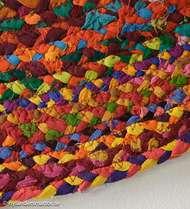 Bild på mattan Flätan