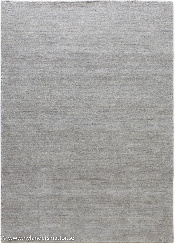 Jaipur   enfärgad handvävd ullmatta   nylanders mattor