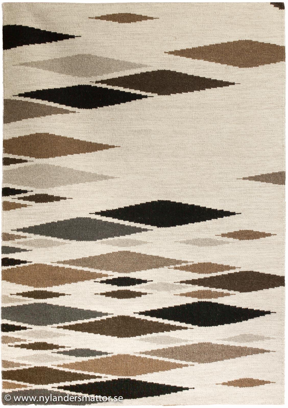 Maya   ullmatta med asymmetriskt mönster   nylanders mattor
